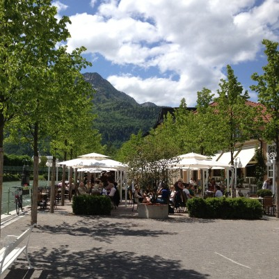 Cafe at Bad Ischl, Austria.