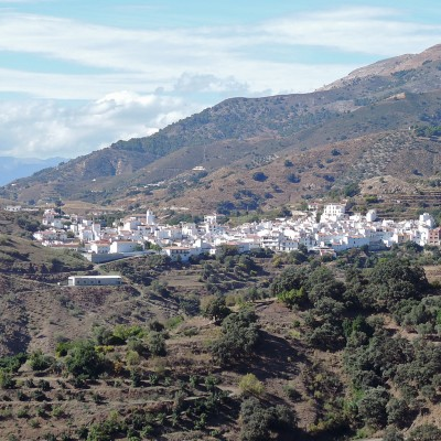 White village of Andalucia