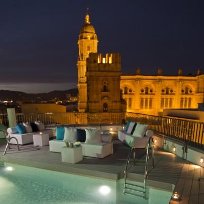 Hotel Molino Lario - rooftop pool