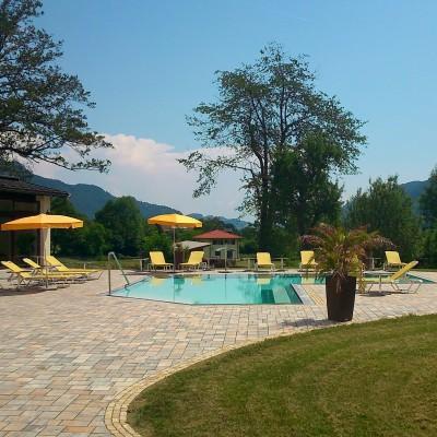 hotel Lindenhof pool