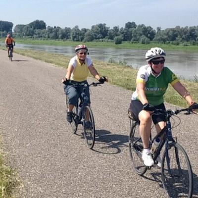 cyclists in emilia romagna