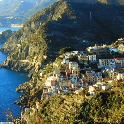 one of the 5 Cinque Terre and its coastline