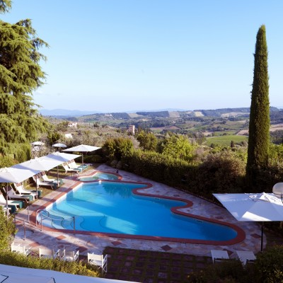Swimming pool Relais Santa Chiara