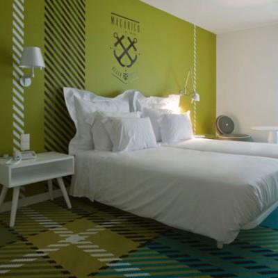 Room at Macarico Beach hotel