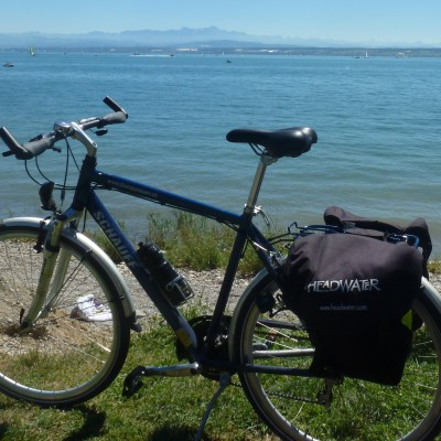 Bike at Lake Constance