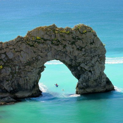 Durdle Door near Lulworth on the Jurassic Coast