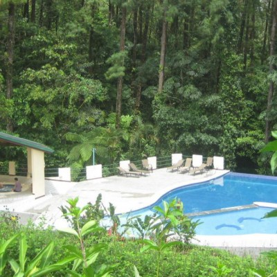 Pool at Arenal Observatory Lodge