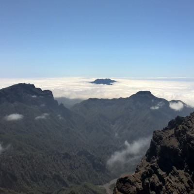 View from the top of La Palma