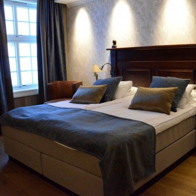 Room at the Dr Holms hotel, Geilo, Norway