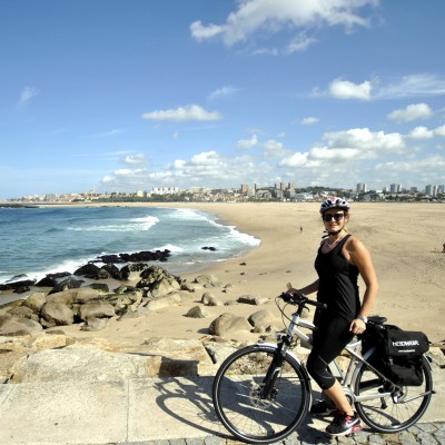 Cycling from Porto to Furadouro