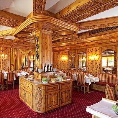 Interior of the Hotel Hubertushof, Leutasch