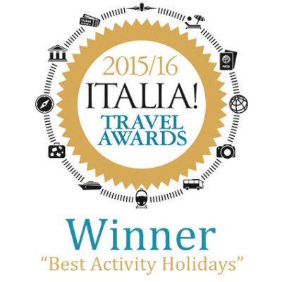 Winner Best Activity Holidays - Italia Magazine 2015-16
