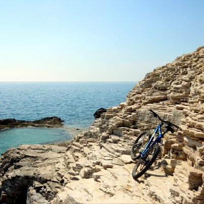 Coastal Croatia  - Pula to Porec Cycling