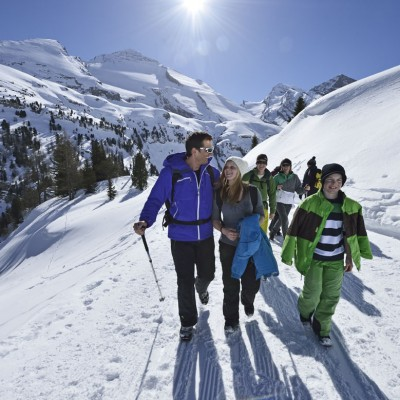 Winter Walkers in Kandersteg