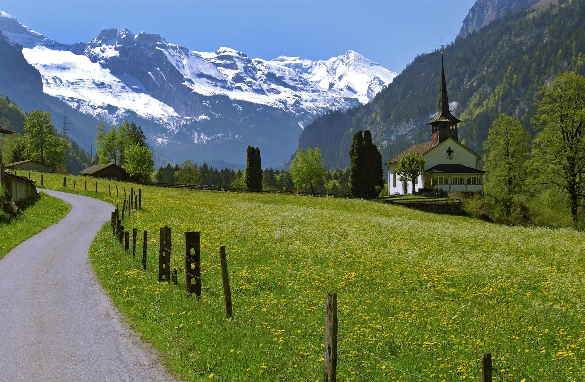 Walking Holiday In The Bernese Oberland Headwater S