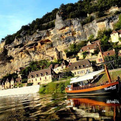 Canoeing on the Dordogne