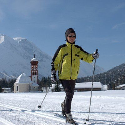 Cross-country skiing at Leutasch and Seefeld
