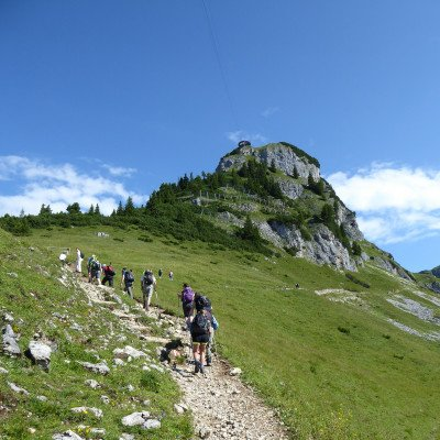 Walking in the Austrian Tyrol