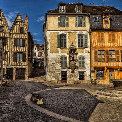 Medieval Burgundy Cycling