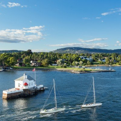 Cycling the Oslofjord